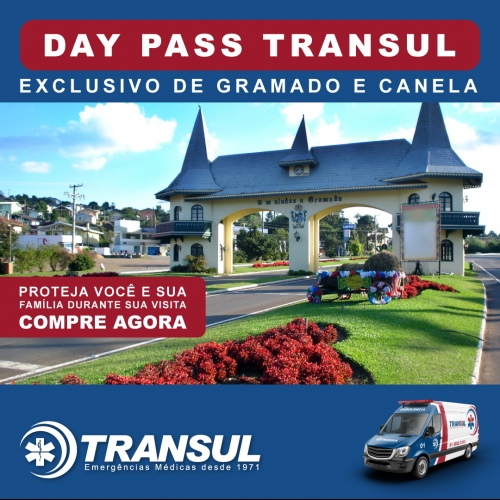 Chegou o Day Pass Transul